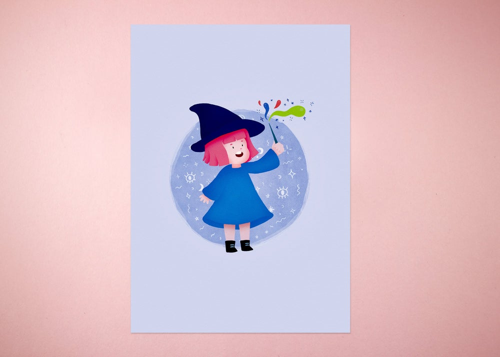 Image of Little Witch Print