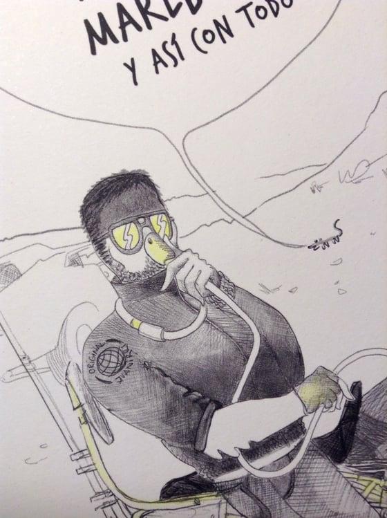 Image of Cartoon Postcard