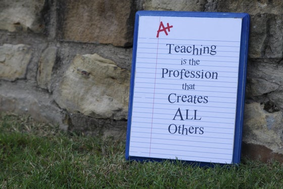 Image of Teacher Appreciation Signs