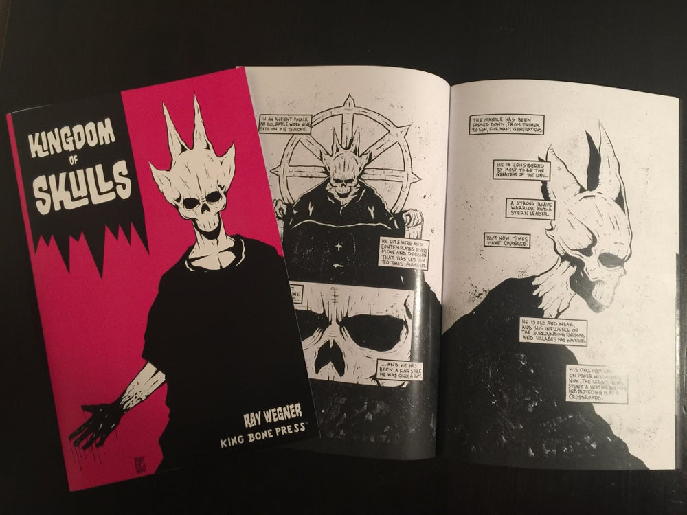 Image of Kingdom of Skulls Comic