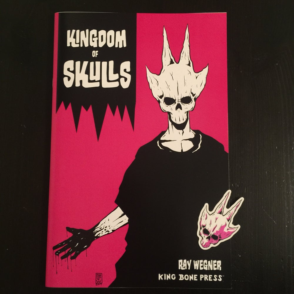 Image of Kingdom of Skulls comic & sticker combo