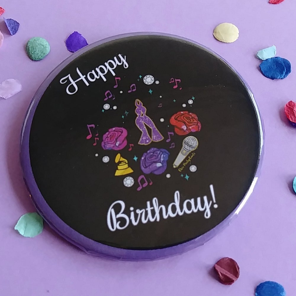 Image of Happy Birthday Button