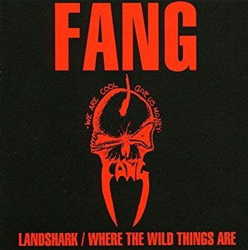 "Image of FANG-""LANDSHARK/WHERE THE WILD THINGS ARE CD"