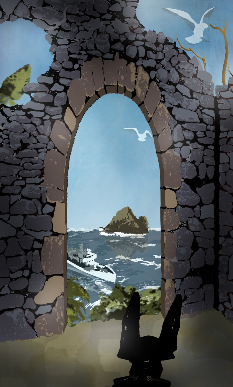 Image of Ruins Print