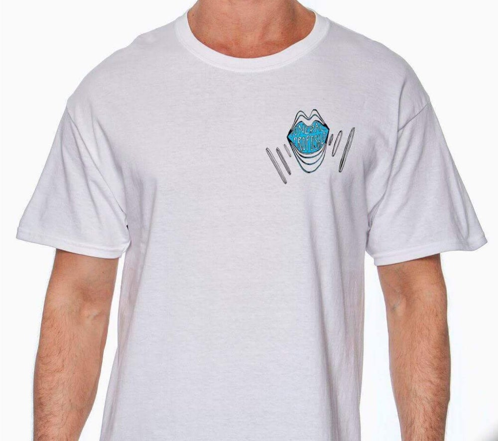 Image of Funeral Proposals Mouth Shirt