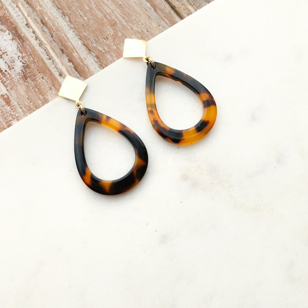 Image of Small Acrylic Earrings