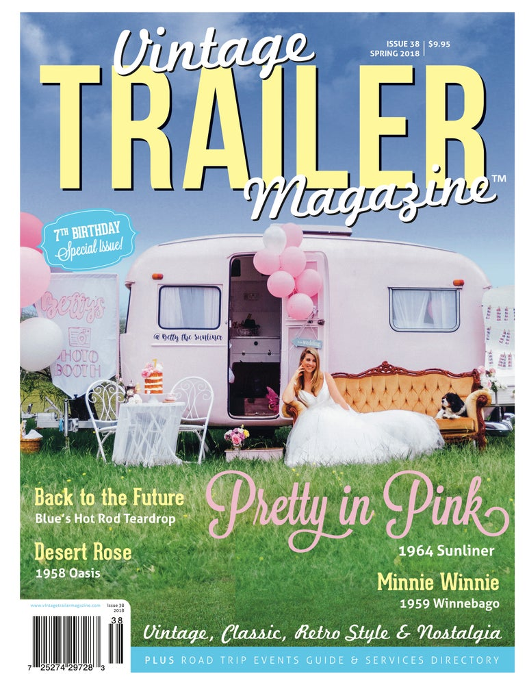 Image of Issue 38 Vintage Trailer Magazine