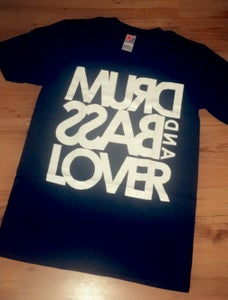 Image of Drum & Bass Lover T Shirt - Black