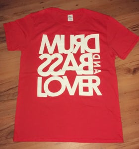 Image of DRUM and BASS Lover RED