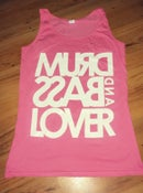 Image of Lady's vest top Pink