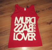 Image of Lady's vest top (RED)