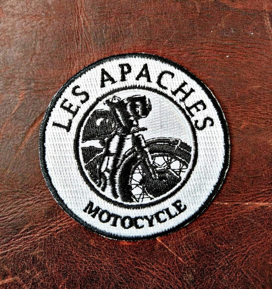 Image of Les Apaches MOTO Patch