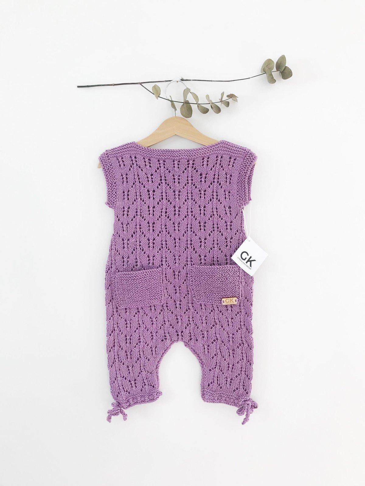 Image of Aurora Romper Suit - Lilac
