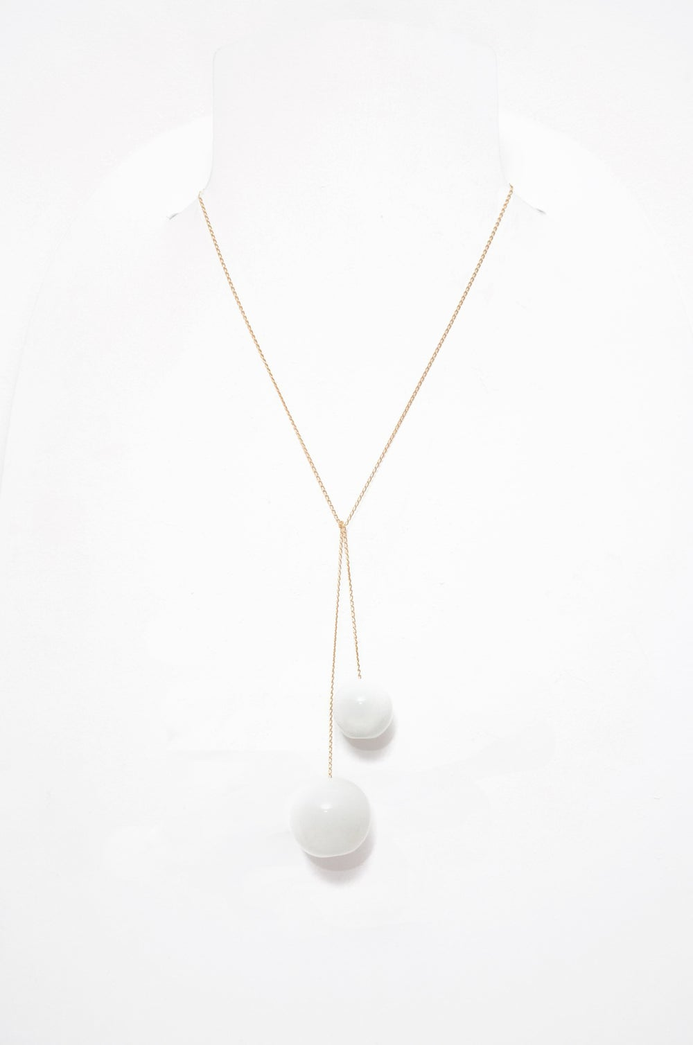 "Image of CERAMIC PENDANT ""TAC TAC"" WHITE"
