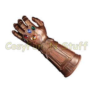 Image of Thanos Infinity Gauntlet Avengers Infinity War Thanos Glove Prop New - ON SALE