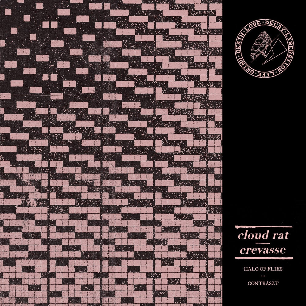 Image of Cloud Rat / Crevasse - Split 7""