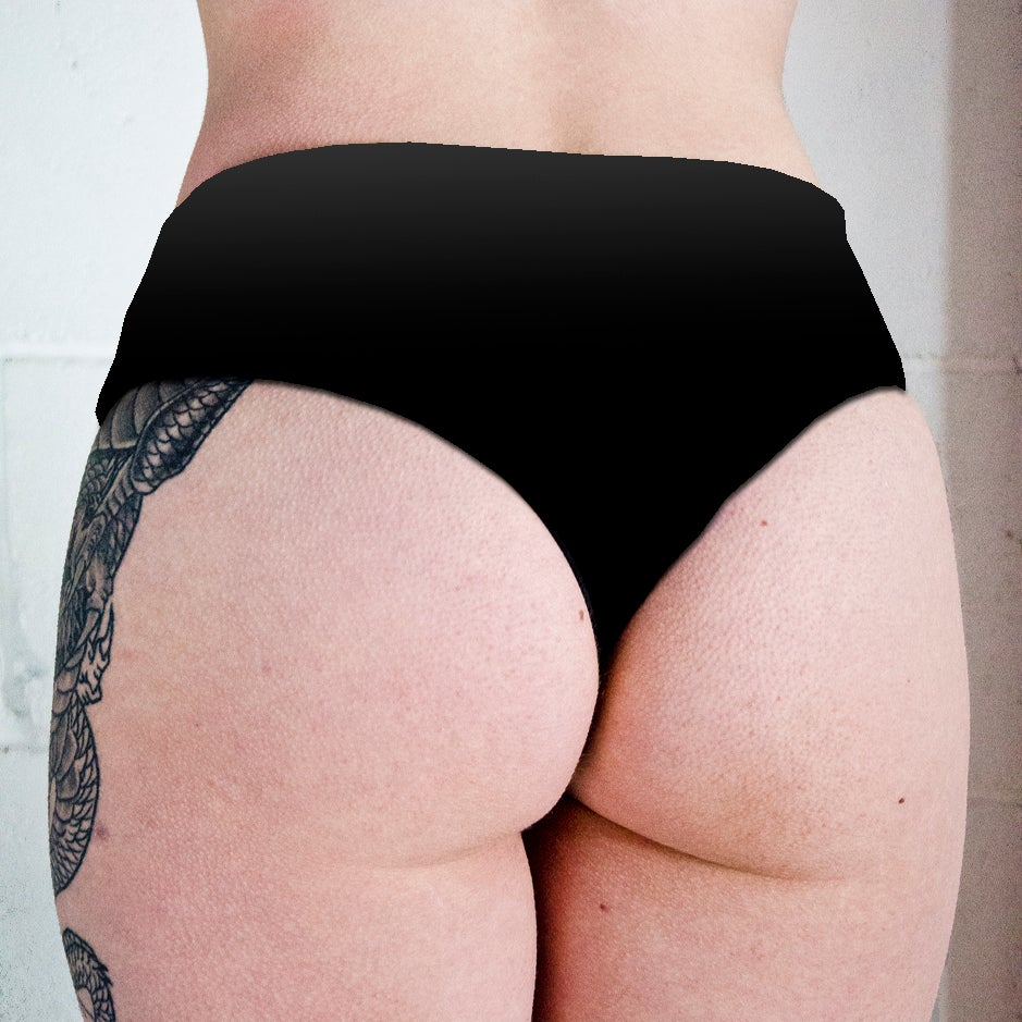 Image of Sphynx Cat Occult Low Rise Twerk Thong Shorts