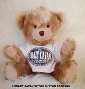 Image of TEDDY BEAR WITH CRAZY CAVAN T - SHIRT-( BACK IN STOCK!)