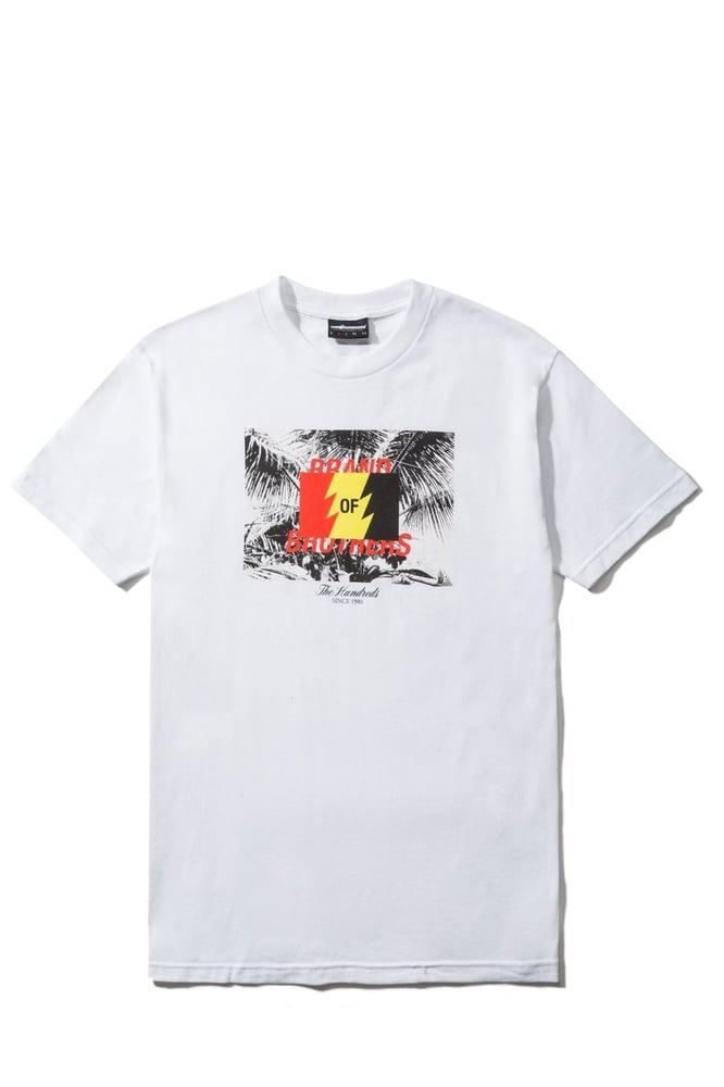 Image of THE HUNDREDS - BRAND T-SHIRT (WHITE)