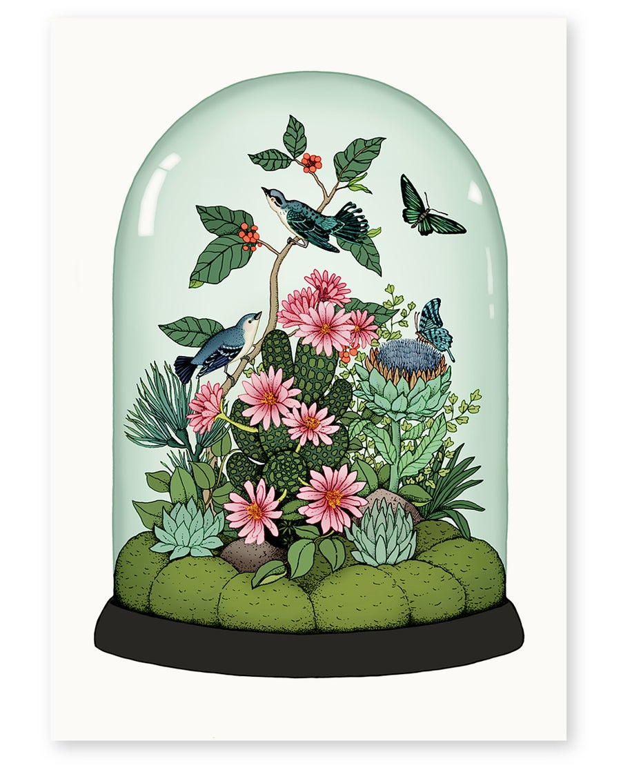 Image of 'Botanical Dome' Limited Edition Art Print