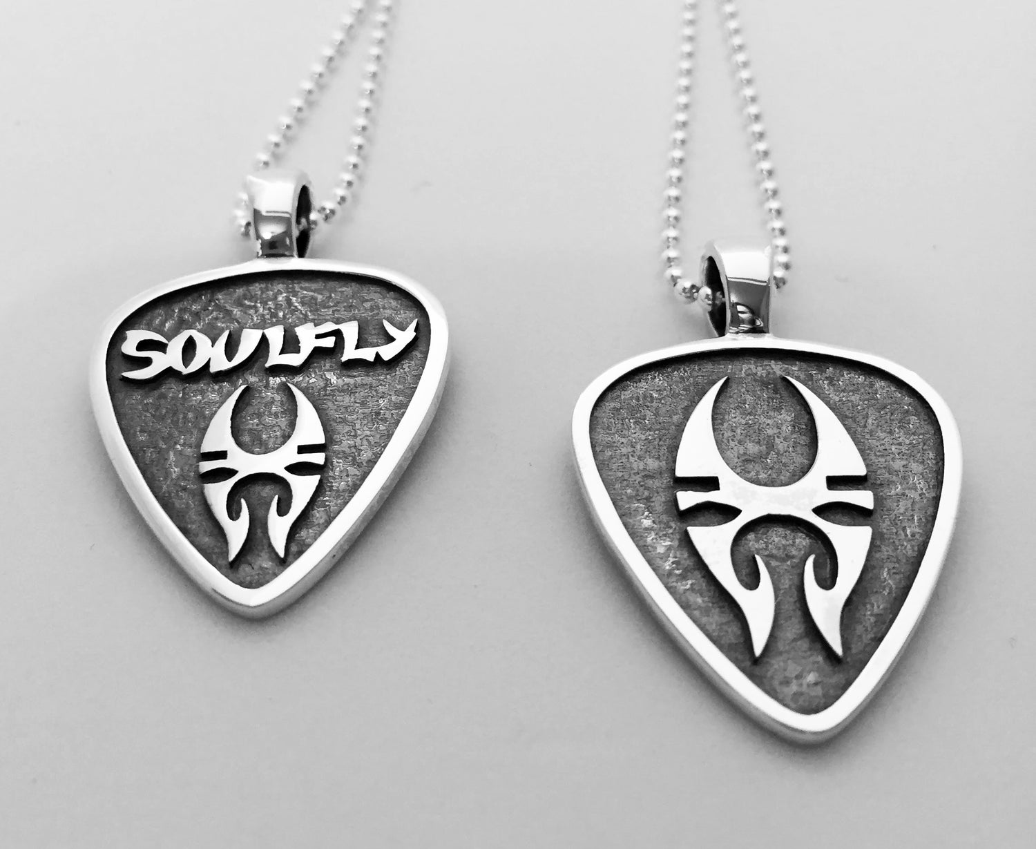 Image of Soulfly, The Official Silver Pendant