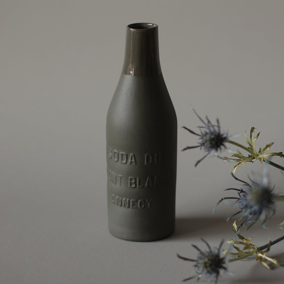 Image of SODA DU MONT BLANC - Annecy - porcelain bottle
