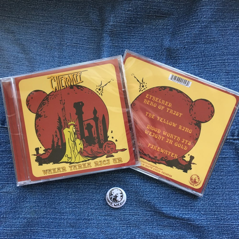 Image of Cherokee - Wakan Tanka Nici Un CD EP