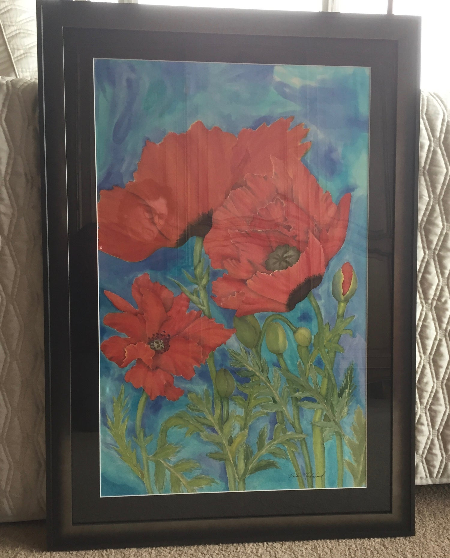 Image of Poppies in the Wind