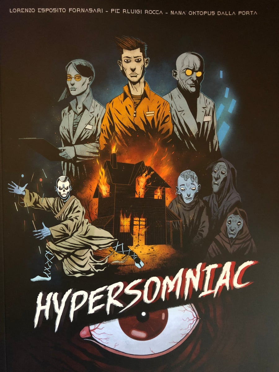 Image of HYPERSOMNIAC printed comics