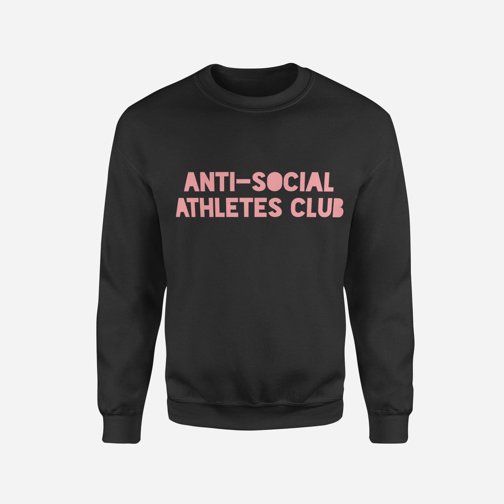 Image of Logo Sweat DUSTY PINK/BLK