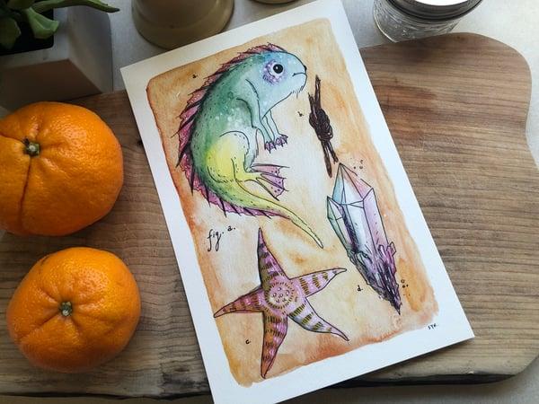 Image of Tidebeast Print - Rowdy Splashyboy