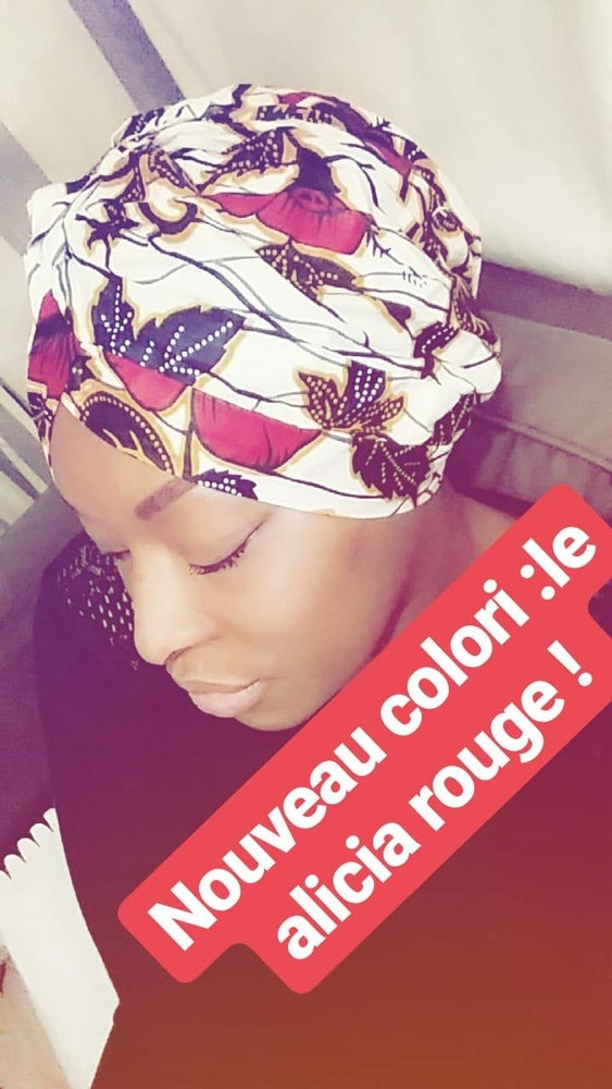Image of Turban Alicia rouge
