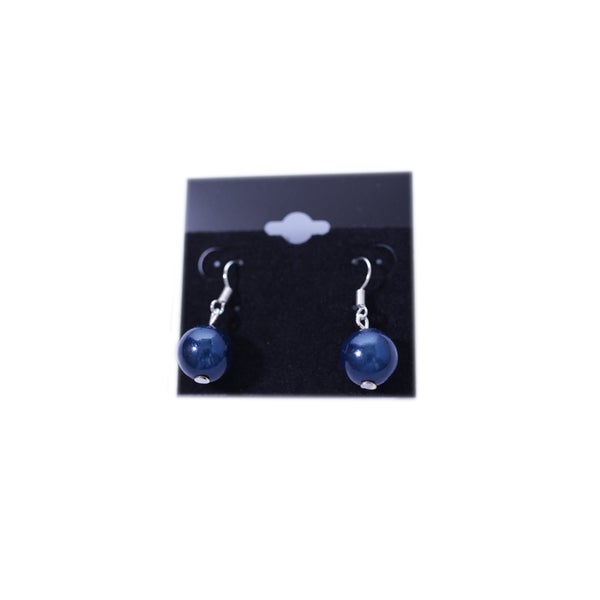 Image of Glow Bead Single Drop Earrings