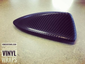 Image of Volvo Vvivid 4D True-R Carbon Fiber SharkFin Antennae (p1, p2 chassis)