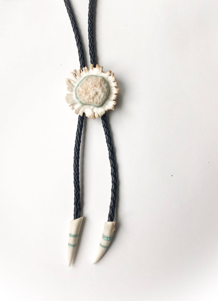 Image of Large Over the Moon Bolo Tie