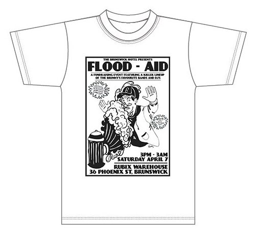 Image of Flood Aid Tee