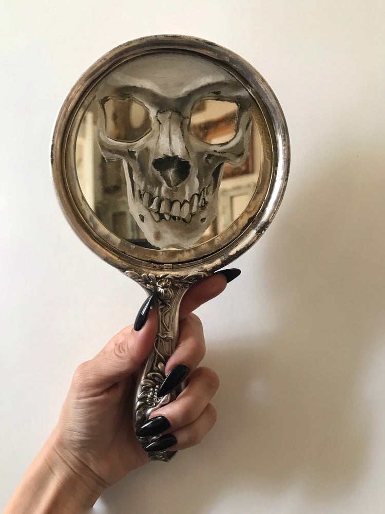 Image of Face of death mirror