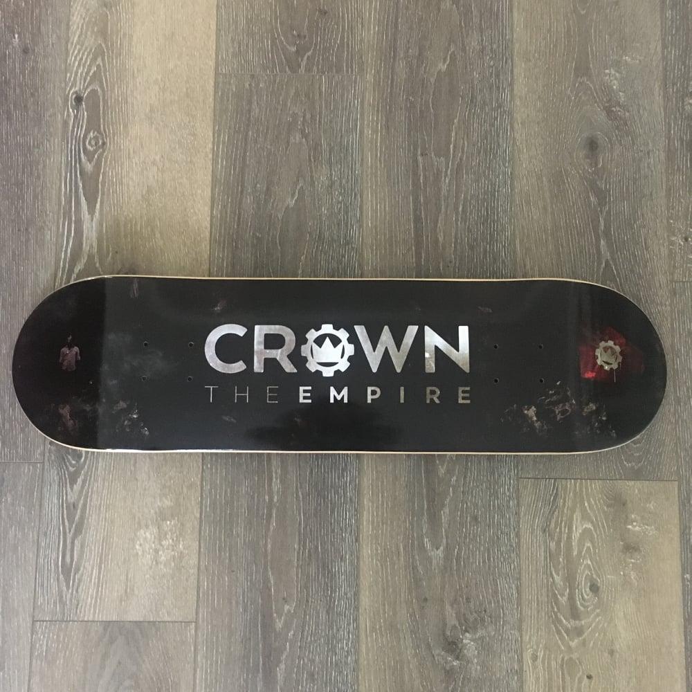 Image of Crown Logo Skate Deck