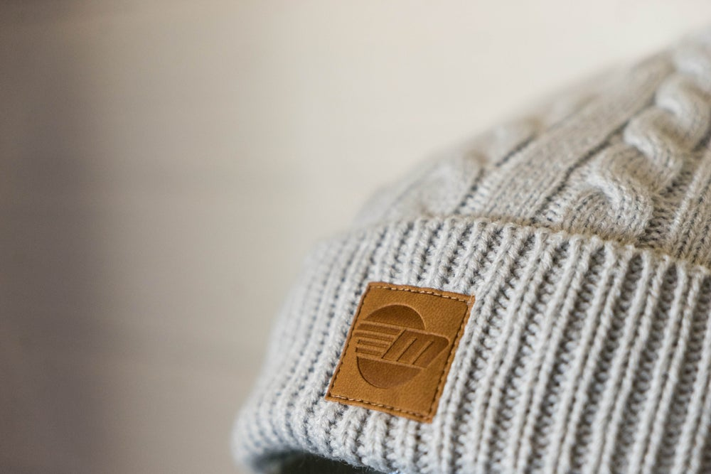 Image of Malibu Unisex Beanie - Light Grey