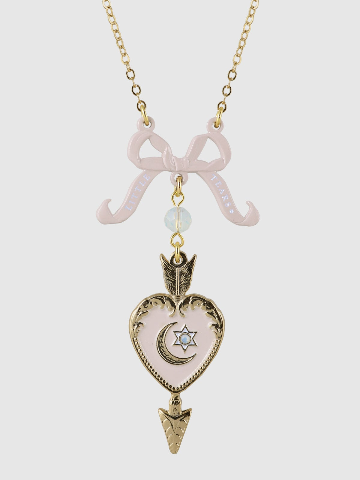 Image of Little Tears Necklace • Pink