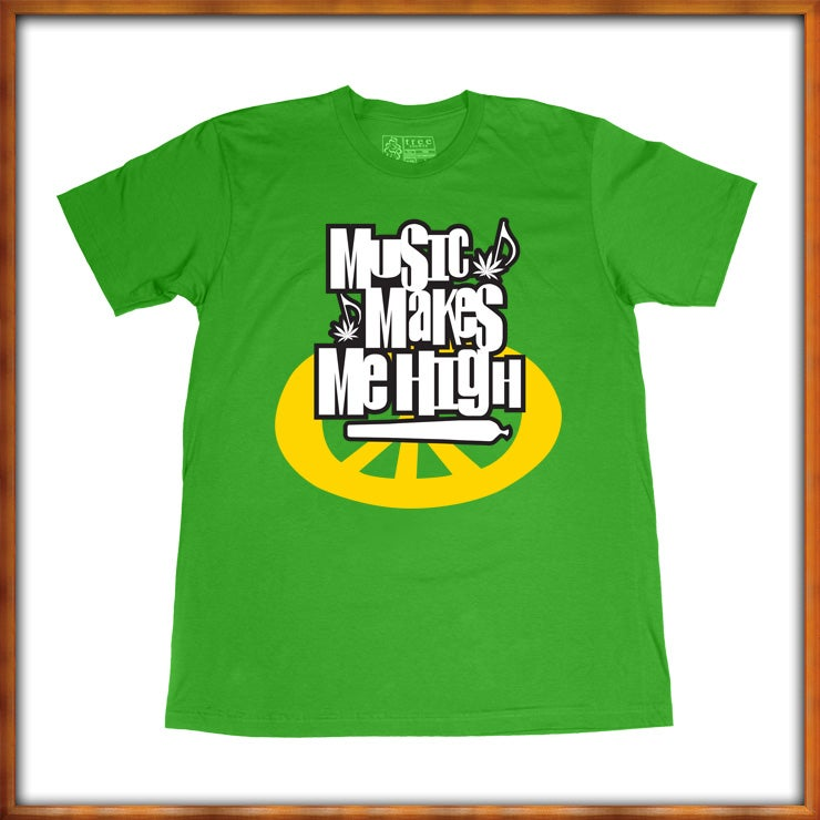 Image of Music Makes Me High Tee