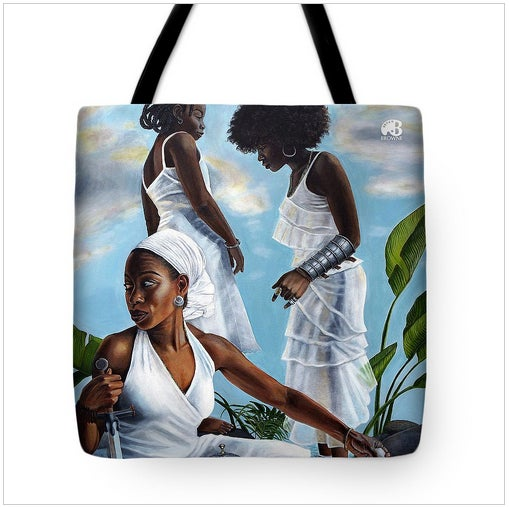 "Image of Very Limited ""Self Evident Truths"" tote: ""The Calm"""
