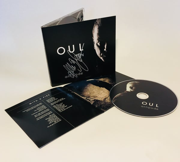 "Image of OUL: ""antipode"" DigiPack - signed by Konstanz"