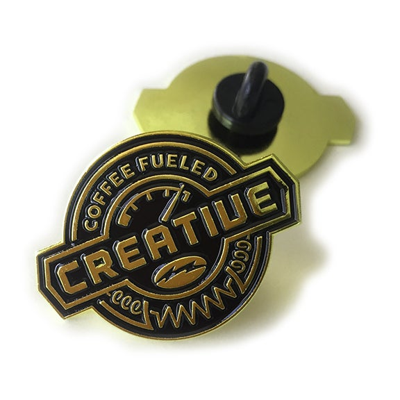 Image of COFFEE FUELED Lapel Pin