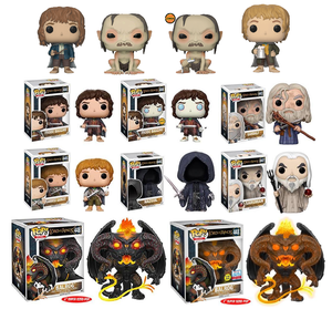 Image of Lord of the Rings Pop Vinyls