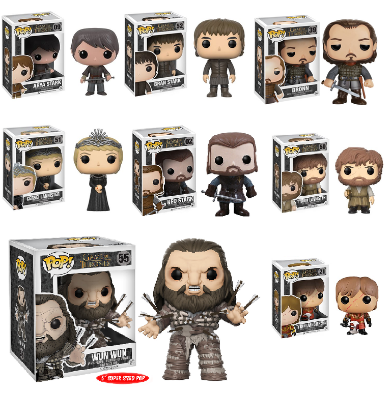 Image of Game Of Thrones Pop Vinyls