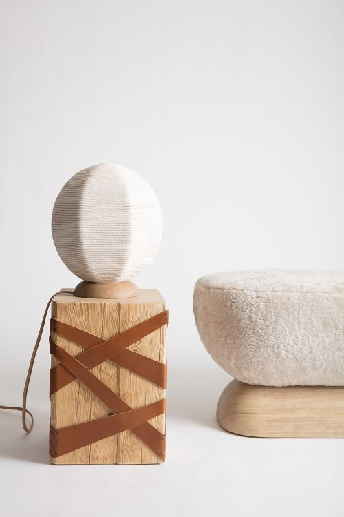 Image of Rope Wrapped Table Lamp