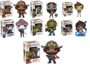 Image of Overwatch Collection Funko Pop! Vinyl