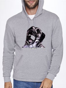 Image of Mans Best Friend Hoodie in Gray