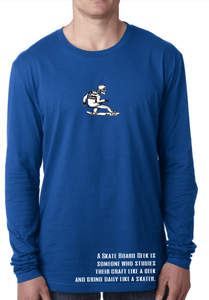 Image of SBG Skeleton Tee in Blue